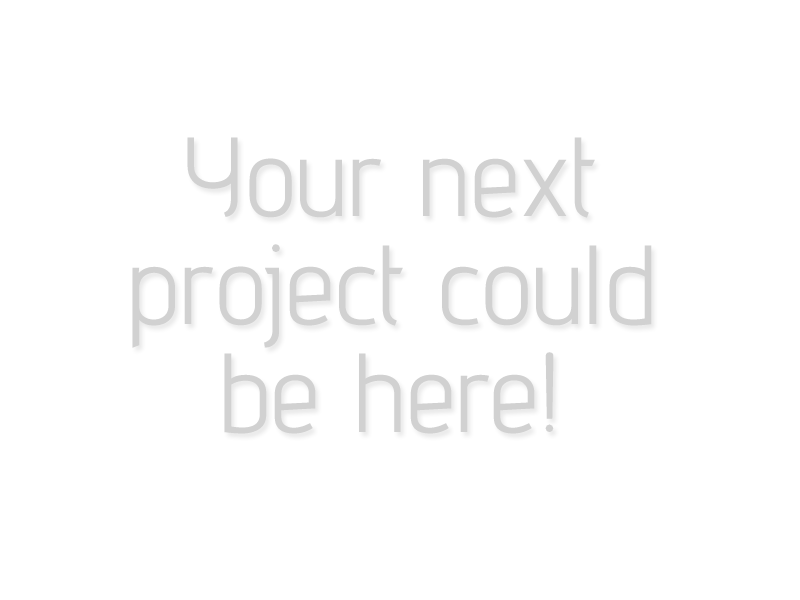 Your Next Project Here